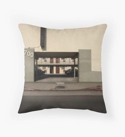 LA Minimal Throw Pillow
