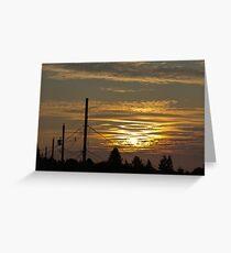 Kensington Sunset Series - 0124 Greeting Card