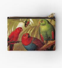 Parrots in the Jungle Studio Pouch