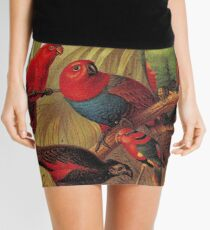Parrots in the Jungle Mini Skirt