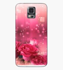 Roses in a Magic Light 2 Case/Skin for Samsung Galaxy