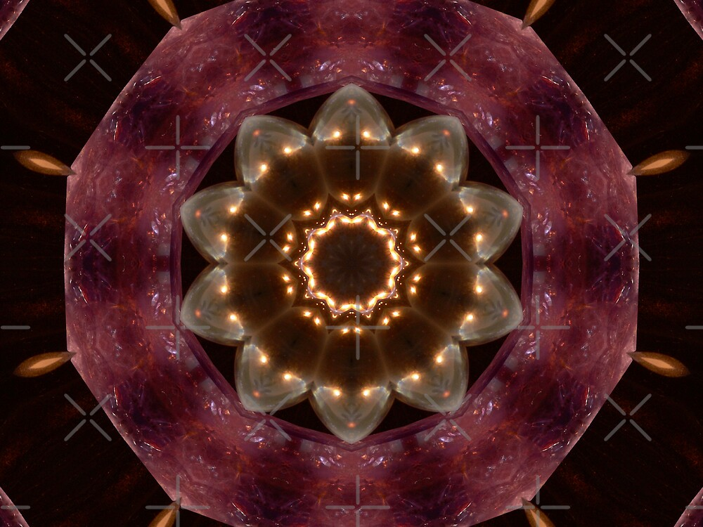 Crystal Kaleidescope by Sandra Chung