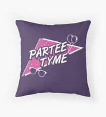 Official Dirty 30 - Partee Tyme Tee Throw Pillow