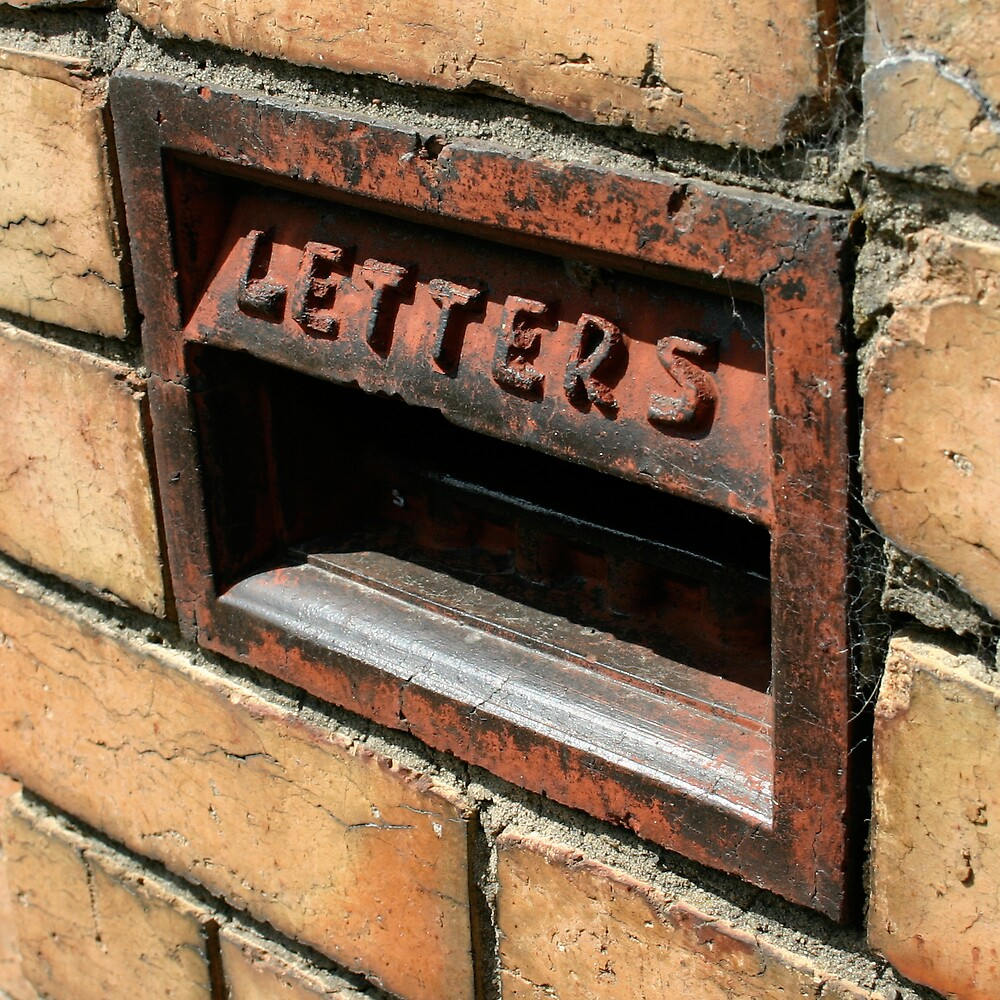 Letters by Chris Mander