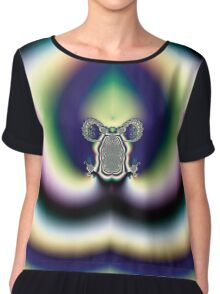 Psychedelic Heart Chiffon Top
