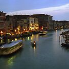 Venice Evening Traffic - #5 by Larry Costales