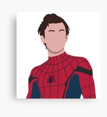 Tom holland, peter parker Canvas Print