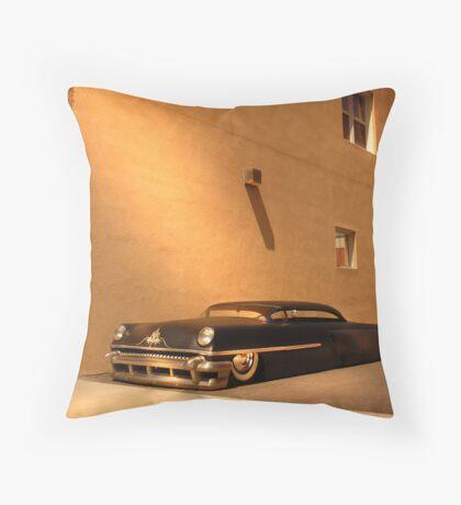Chopped Mercury Throw Pillow
