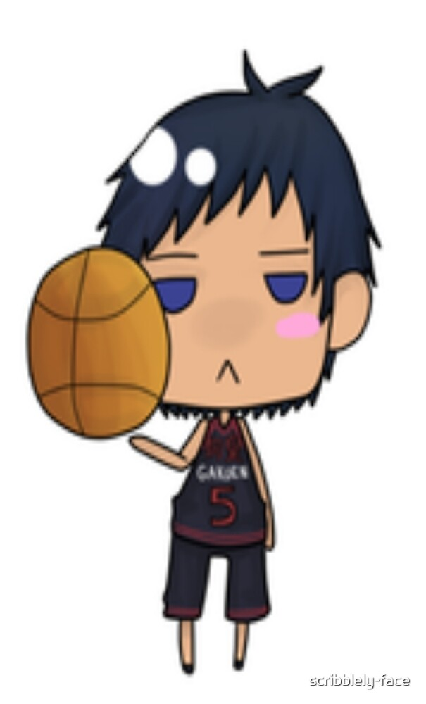 Aomine by scribblely-face