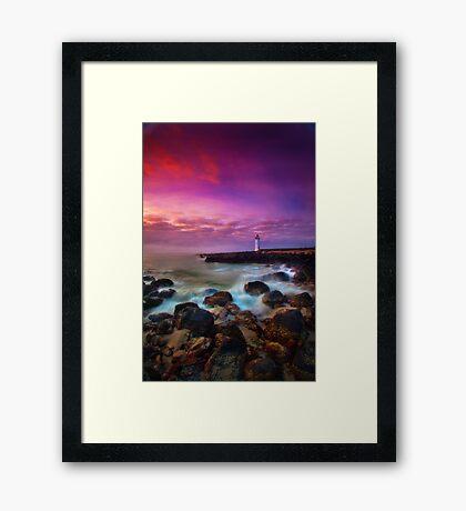 Port Fairy Lighthouse - Sunrise Framed Print
