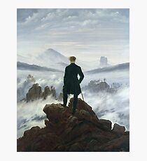 Caspar David Friedrich - The Wanderer Above The Sea Of Fog Photographic Print