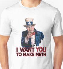 Heisenberg Uncle Sam Unisex T-Shirt