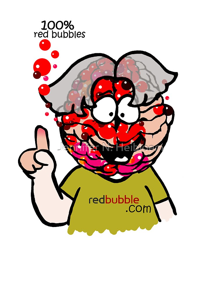 100% bubbles for brains by CowLickKidsCreations