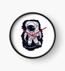 Lonely astronaut Clock