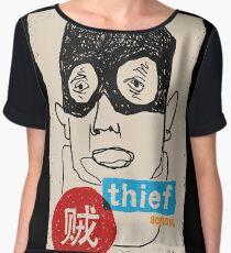 A thief Chiffon Top