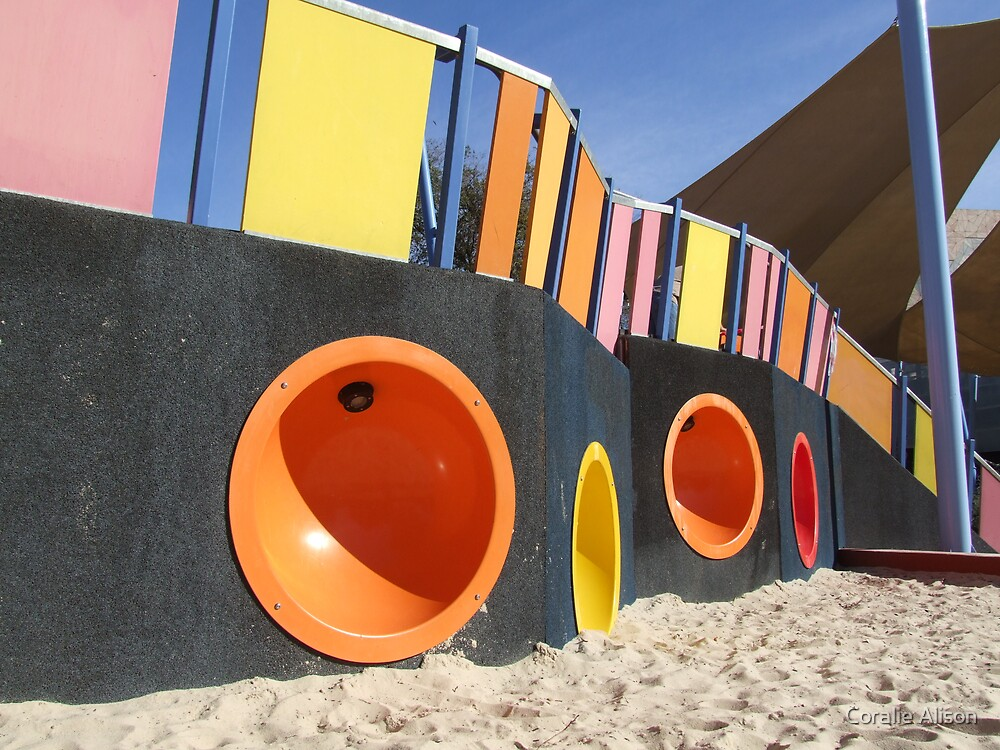 Play ground by Coralie Alison