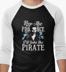 I will take the pirate! Men's Baseball ¾ T-Shirt