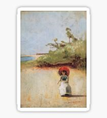 Charles Conder - All On A Summers Day (1888) Sticker