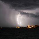 Lightning Over Larrakeyah by Brett Habener