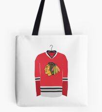 Blackhawks Jersey Tote Bag