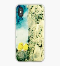 Chicks in a tree iPhone Case