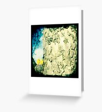 Chicks in a tree Greeting Card