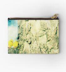 Chicks in a tree Studio Pouch
