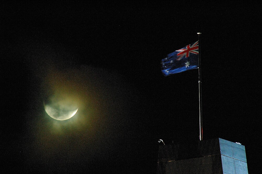 ANZAC moon by matthew maguire
