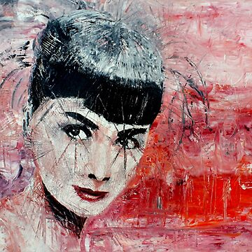 Audrey Hepburn by iconic-arts
