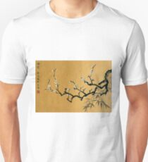 White Plum Blossom With Bamboo T-Shirt