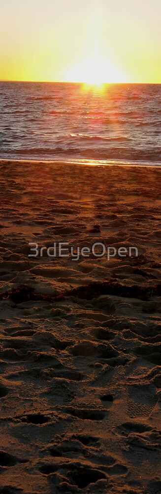 Lasting Impressions - Beach Panels series by 3rdEyeOpen