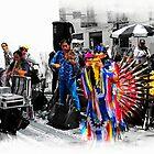 Pan Flutes In Cuenca by Al Bourassa