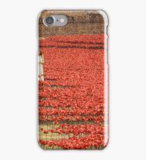 Flanders` Poppy in London iPhone Case/Skin