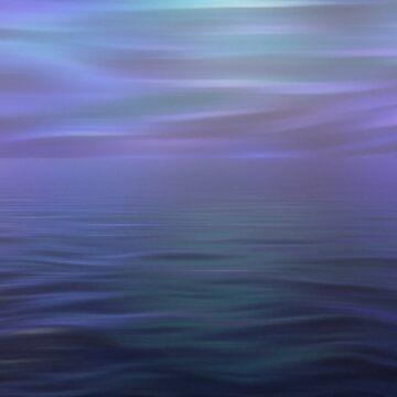 Calm Sea at Dawn by GreyMouser
