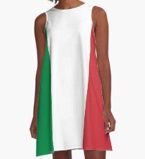 Italy flag designs A-Line Dress