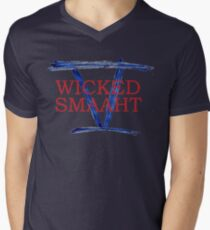 Wicked Smaaht - 5 Time Champions Mens V-Neck T-Shirt