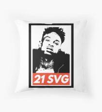 21 SAVAGE Throw Pillow
