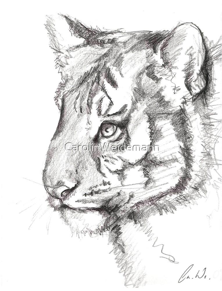 Tiger by CarolinWeidemann