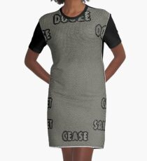 FONETK FRUNCH Graphic T-Shirt Dress