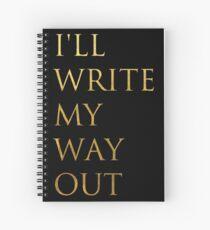 Cuaderno de espiral Escribe mi salida