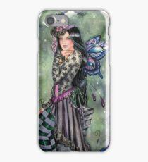 Dark Iris gothic steampunk fairy faerie fantasy iPhone Case/Skin