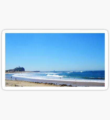 Beach to Nobbys Sticker