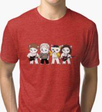 Meow rock band Tri-blend T-Shirt