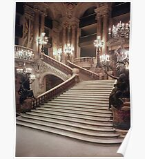 Charles Garnier - The Grand Staircase Of The Opera - Garnier Poster