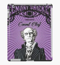 A series of unfortunate events Count Olaf iPad Case/Skin