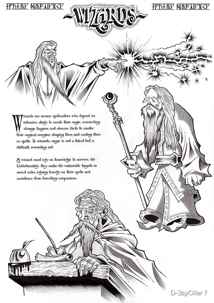 Wizards -Arcane Knowledge by D-3spOiler ?