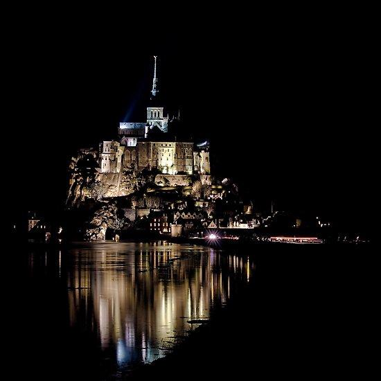The Mont Saint Michel by Julien Tordjman
