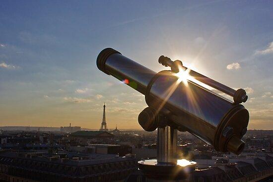 Sunset on Paris by Julien Tordjman