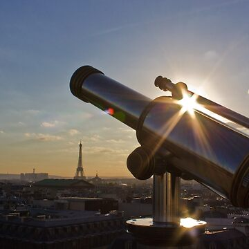Sunset on Paris by neoweb
