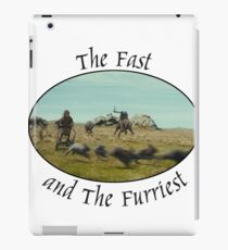 The Fast and The Furriest iPad Case/Skin